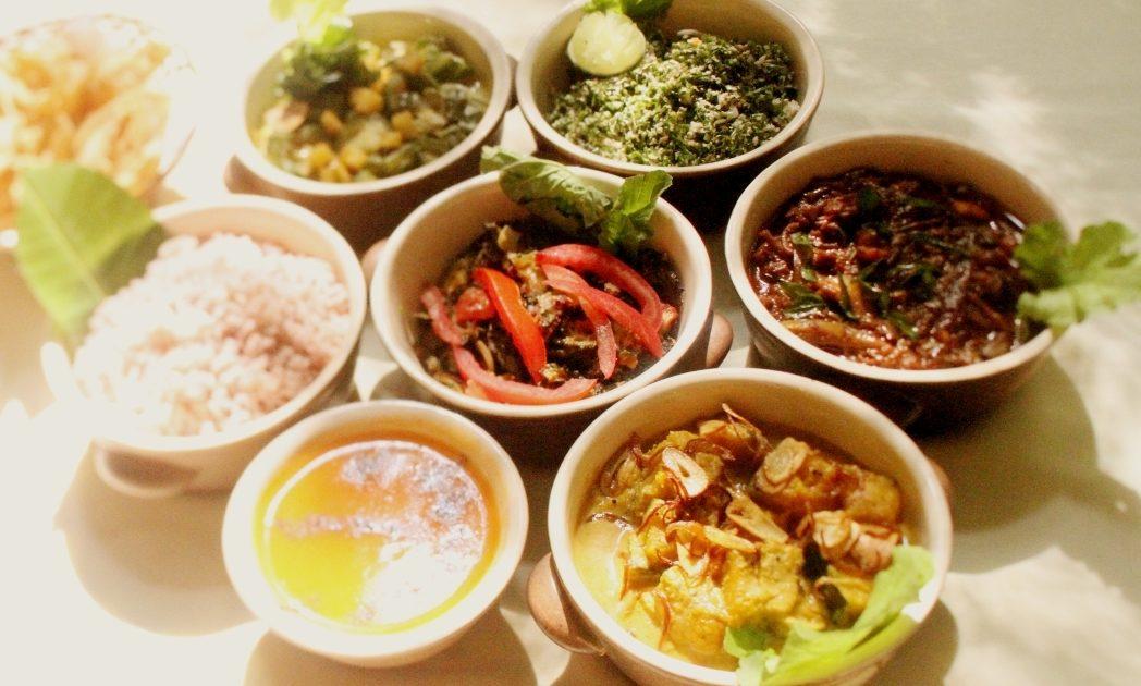朝食は品数が多くかなりのボリュームでお腹も満足
