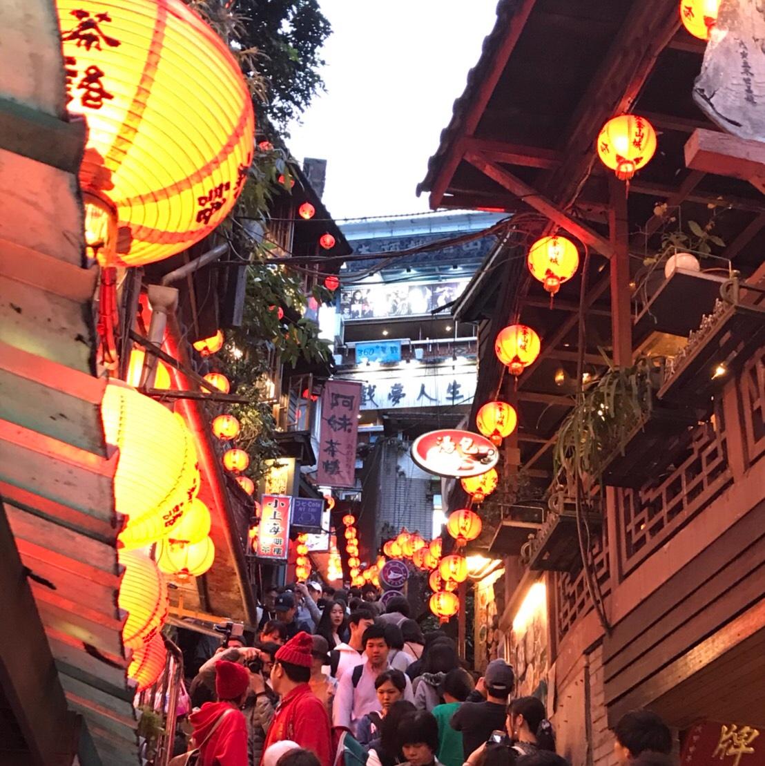 レターポット企画「台湾東部への観光支援」九份